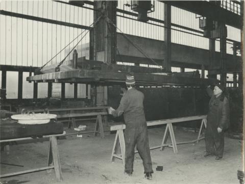 Budapest, az I. sz. házgyár gyártócsarnoka