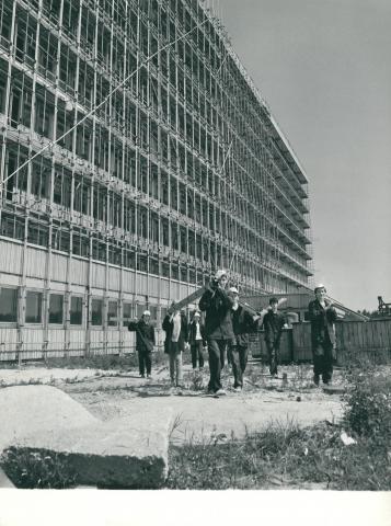 A Jahn Ferenc Dél-pesti Kórház és Rendelőintézet építése